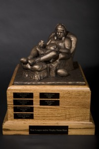 armchairqb trophy 200x300 Fantasy Football Trophy