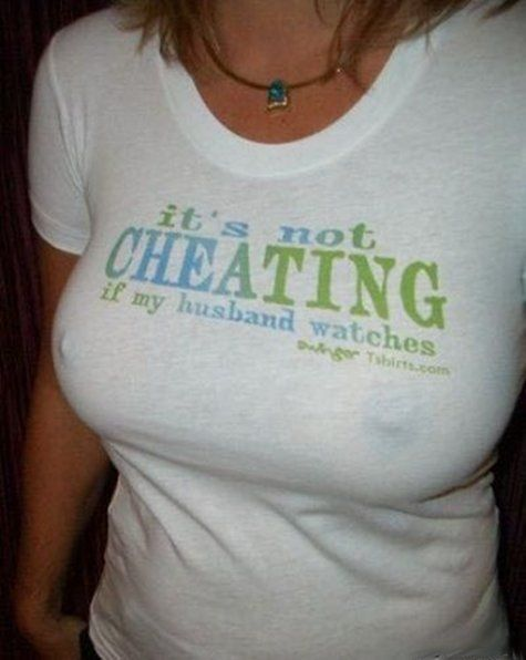 It's Not Cheating If My Husband Watches